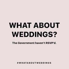 #WhatAboutWeddings